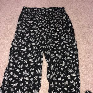 H&M flowy floral pants